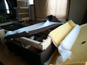 ソファーベッドのゴミ分別