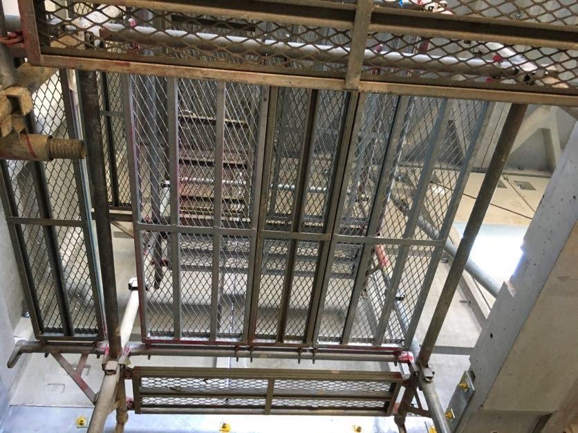 階段を付ける前の階段部分
