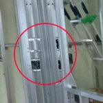 電気スイッチの局所集中型