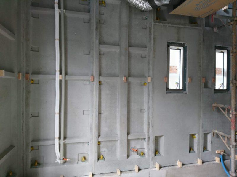 鉄筋コンクリートの壁