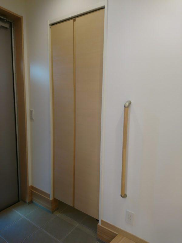 玄関のシューズインクローゼット SIC