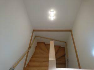 U字階段(上から)