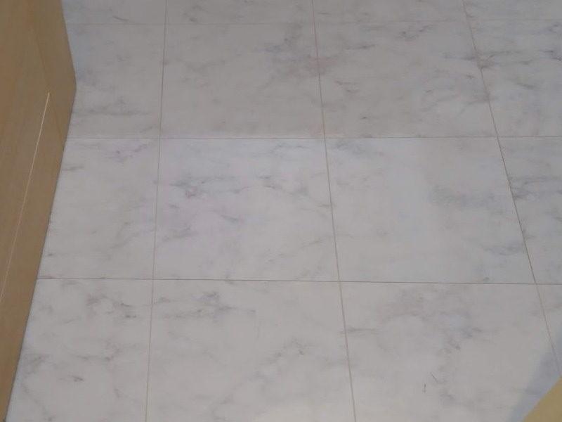 洗面所の床