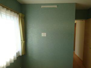 Z空調と壁掛けテレビ用コンセント