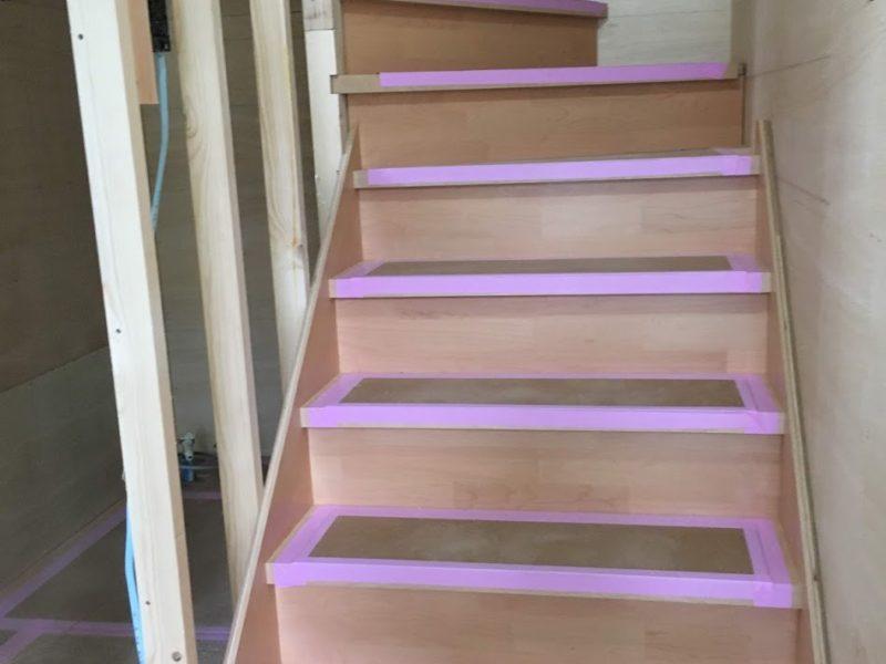 階段を設置