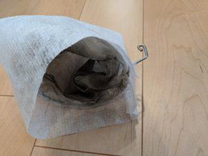 ココチEのネットを自作袋に入れる